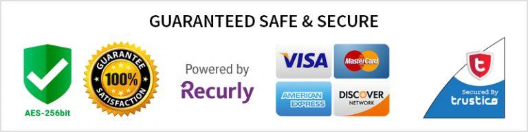 guaranteed safe secure